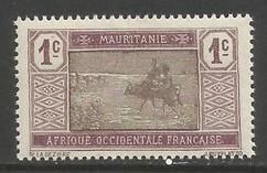 MAURITANIA 18 MOG Z5902
