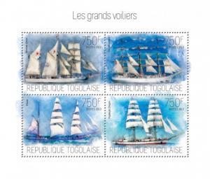 TOGO 2013 SHEET SAILING SHIPS tg13703a