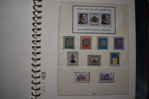 LUXEMBOURG  1981  YEAR SET  MNH