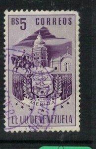Venezuela Arms Merida SC 575 VFU (9exg)