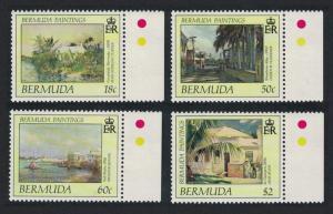 Bermuda Bermuda Paintings 2nd series 4v Right Margins SG#607-610