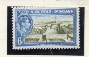 Bahamas 1938-52 Early Issue Fine Mint Hinged 6d. 294920