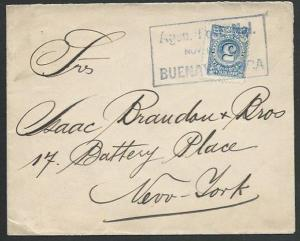 COLOMBIA 1904 5c on cover to USA...........................................61294