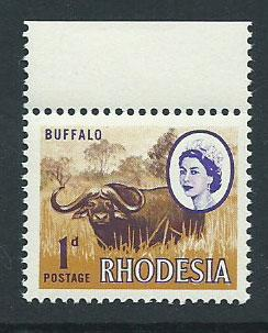 Rhodesia SG 397  MUH   hinged margin
