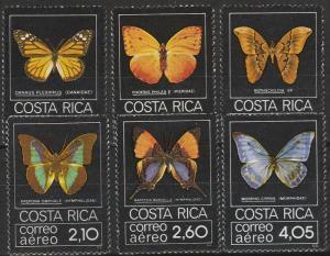 Costa Rica #C759-64  MNH CV $53.00 (A17421)