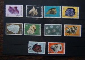 Botswana 1974 Botswana Minerals Values to 50C Used