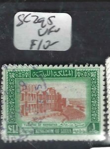 LIBYA  (PP2706B)  SC 295       VFU