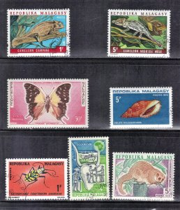 MALAGASY  MNH & MH  LOT #1    SEE SCAN