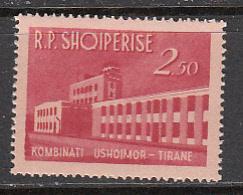 Albania SC# 697  1963 Food Plant MNH