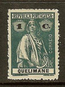 Quelimane, Scott #27B, 1c Ceres, MH