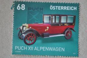 Austria 2017 stamp Puch 68