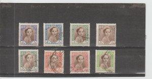 Iraq  Scott#  102-109  Used  (1942 Faisal II)