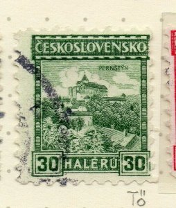 Czechoslovakia 1926-27 Issue Fine Used 30h. NW-148594