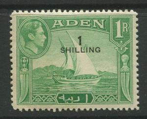 STAMP STATION PERTH Aden #43 KGVI Definitive Overprint Issue 1951 MNH CV$2.75.