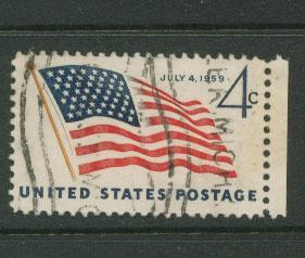 USA   SG  1131 FU right margin