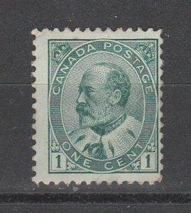 #89 Edward VII Mint OGH
