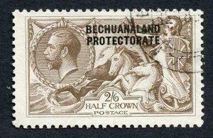 Bechuanaland SG88 2/6 Bradbury Seahorse Fine used  Cat 160 pounds