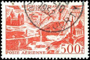 1949 France #C26, Incomplete Set, Never Hinged