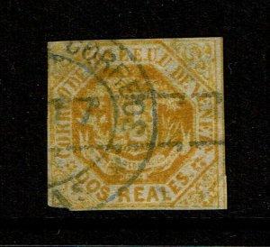 Venezuela SC# 44a, Used, few minor, small shallow thins - S10957