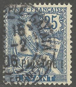 FRENCH OFFICES-TURKEY-LEVANT SCOTT 34