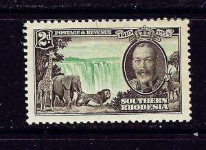 Southern Rhodesia 34 MH 1935 KGV Silver Jubilee