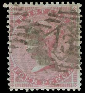 Great Britain Scott 22 Gibbons 62 Used Stamp