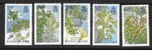 CAYMAN ISLANDS SG1088/92 2006 TREES MNH