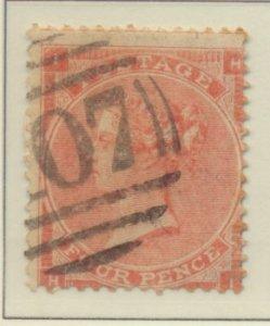 Great Britain Stamp Scott #34, Used/Canceled - Free U.S. Shipping, Free World...