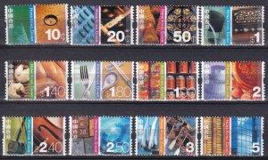 Hong Kong #998-1009  MNH  CV $7.80 (Z4781)