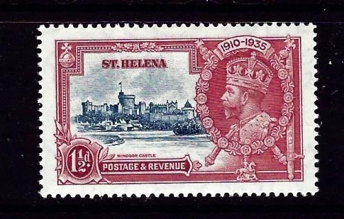St Helena 111 Hinged 1935 issue