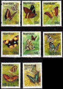 NAMIBIA [1993] MiNr 0763 ex ( **/mnh ) [01] Schmetterlinge