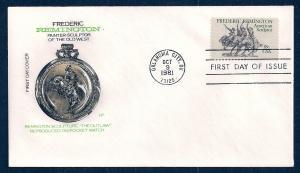 UNITED STATES FDC 18¢ Fred Remington 1981 Farnam