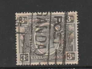 KUT 1922/7 3/- Used SG 90