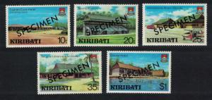 Kiribati Captain Cook Hotel Aircraft Archives Development 5v Specimen SG#136-140