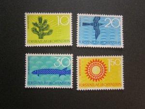 Liechtenstein 1966 Sc 406-9 set MNH