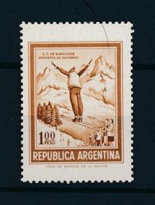 [75192] Argentina 1971 Wintersport Ski jumping Without watermark MNH