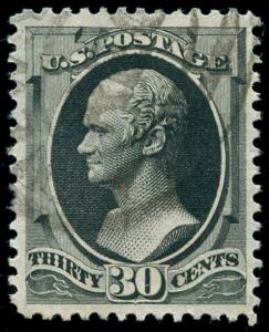 momen: US Stamps #190 Used XF