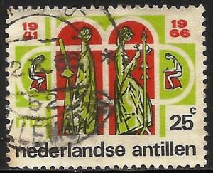 Netherlands Antilles 1966 Scott# 307 Used