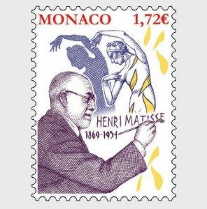 H01 Monaco 150th Anniversary of the Birth of Henri Matisse  MNH ** Postfrisch
