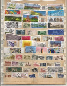 GERMANY COLLECTION ON STOCK SHEET, MINT/USED