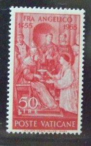 ♗Vatican City, 1955, 500th Anniv Death of Fra Angelico,set SG218/9, MNH  #HS232