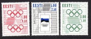 Estonia B60-B62 MNH VF