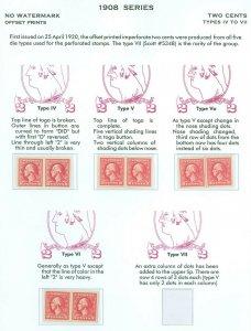 US Scott #532 #533 #534 #534a Imperf Pairs, Mint-XF-OG-NH/Hinged (DK-4-21-21)