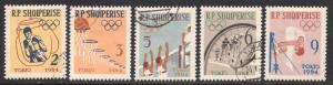 ALBANIA SCOTT 666-670