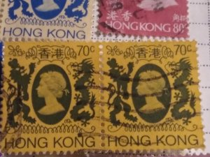Hong Kong 398 used pair