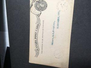 Canada Brantford/Ont/PM/JA 12/97 Squared Circle  On 1c P Card Also Glencairn
