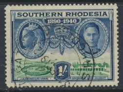 Southern Rhodesia  SG 60 SC# 63   Used Golden Jubilee BSAC  see scans