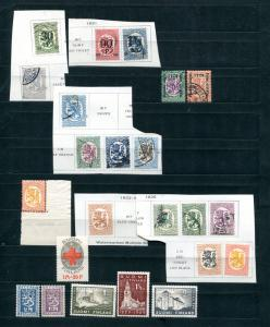 Finland  lot of Mint and Used F-VF