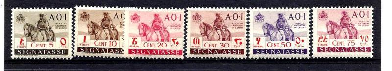 Italian E. Africa Postage Dues