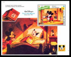 St Vincent 1802 Walt Disney characters Mickey's True Reflection 1992 x14580